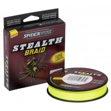 Плетеный шнур Spiderwire Stealth Yellow 137m 0,35mm