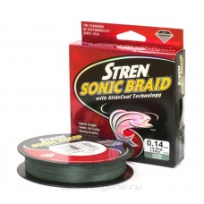 Плетеный шнур Stren Sonic Braid Green 270m 0,30mm